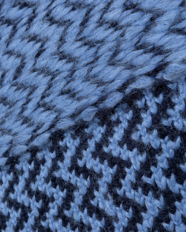 Jil Sander – Vest Kitted Blue - Image 3