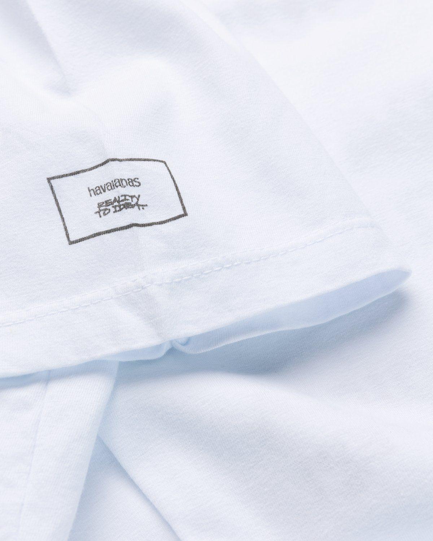 Havaianas x Reality to Idea by Joshuas Vides – T-Shirt White - Image 4