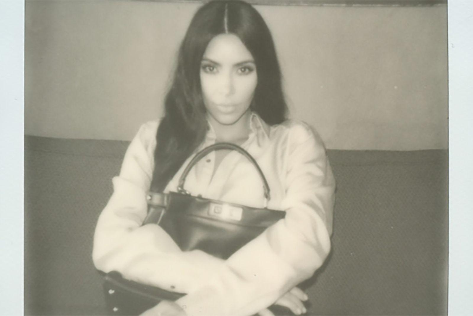 north west fendi campaign kim kardashian Kim Kardashian West Kris Jenner