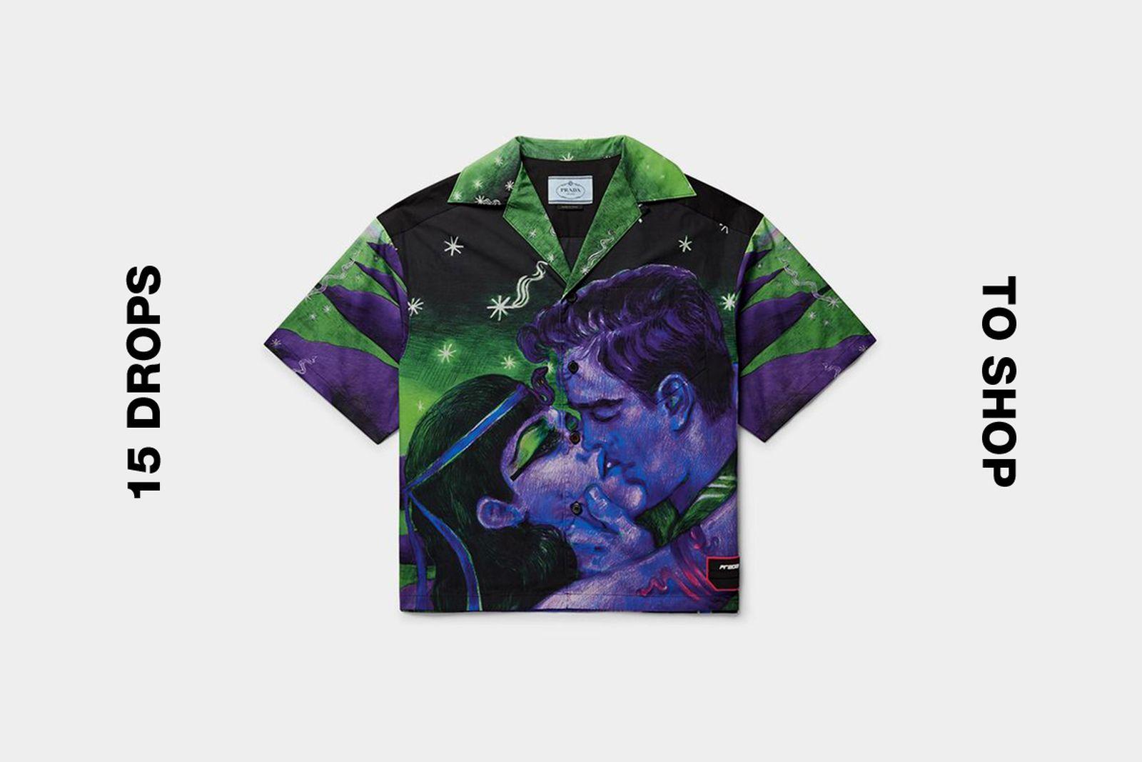 prada bowling shirt best drop buy Gucci Loewe Nike SB
