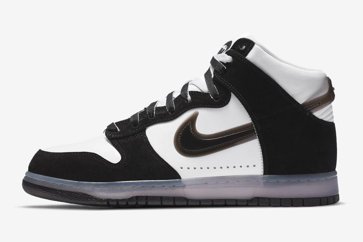 Slam Jam's Nike Dunk Flips the Swoosh Upside Down 13