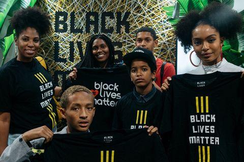 black lives matter black history month pop up