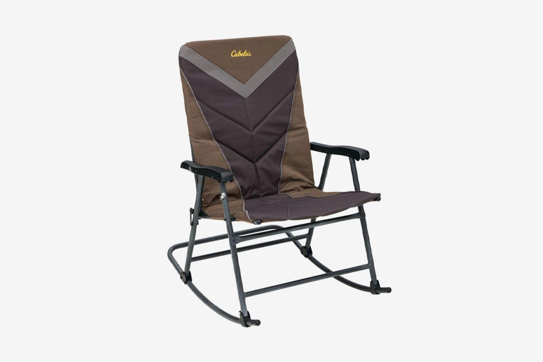 Big Outdoorsman Rocker Fold-Up Chair