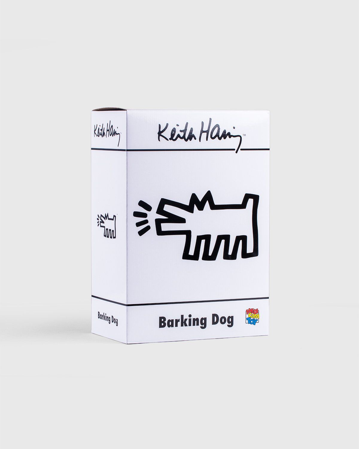 Medicom — Keith Haring Barking Dog Statue White - Image 4