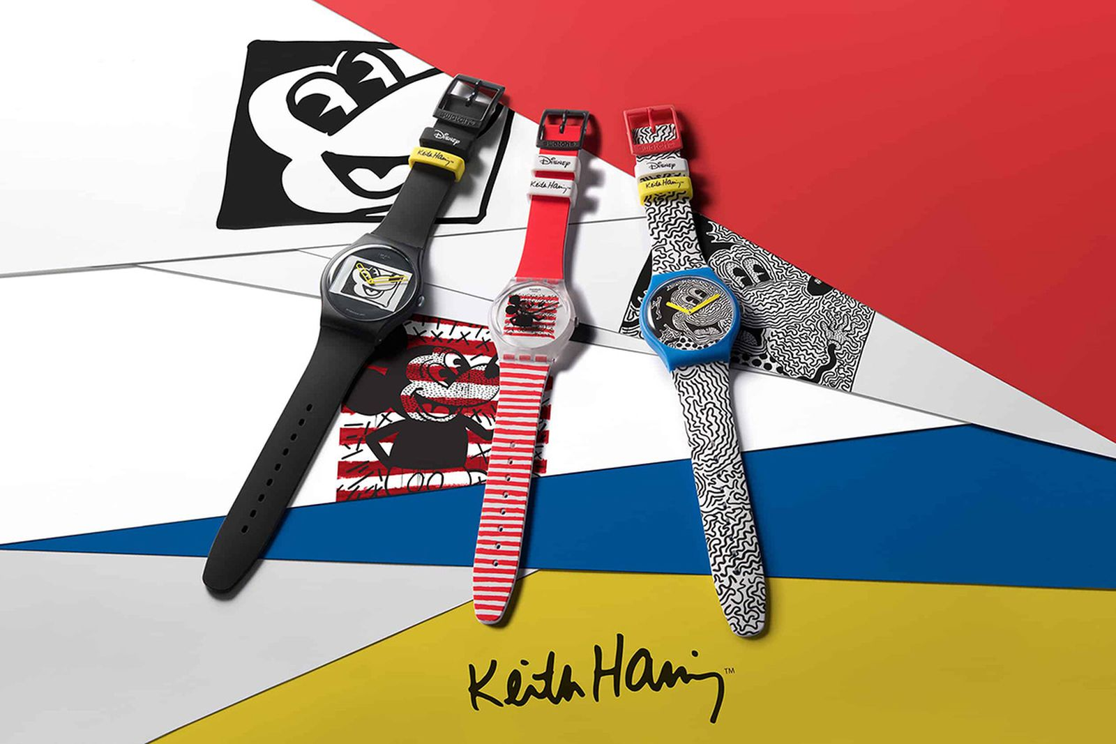 Swatch-Disney-Mickey-Mouse-Keith-Haring-1