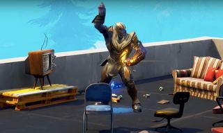 """""""Dancing Thanos"""" From 'Fortnite' Is Every Marvel Fan's Latest Meme Obsession"""