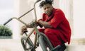 Nigel Sylvester Debuts Fendi's First Ever BMX Bike