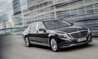 Mercedes-Benz Reveals Luxurious New Maybach S-Class