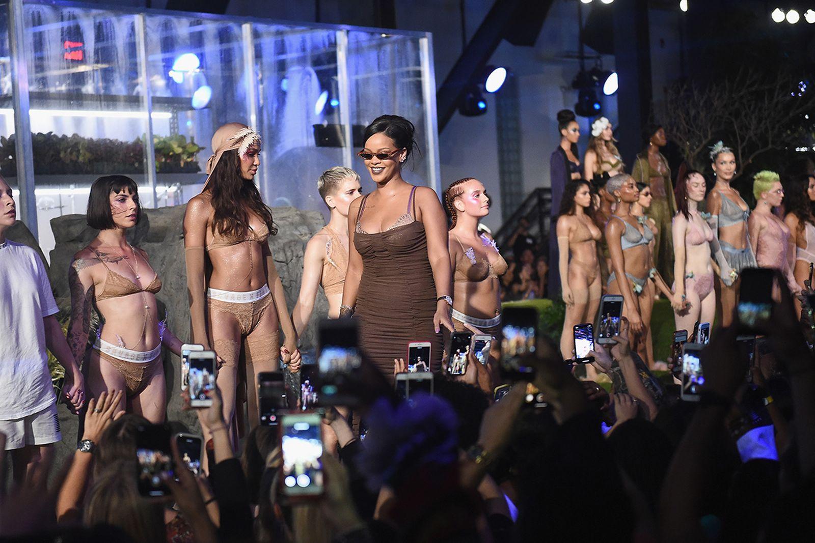 fenty savage Savage x Fenty new york fashion week rihanna