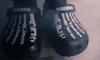PLEASURES' Skeletal Crocs Drop Today