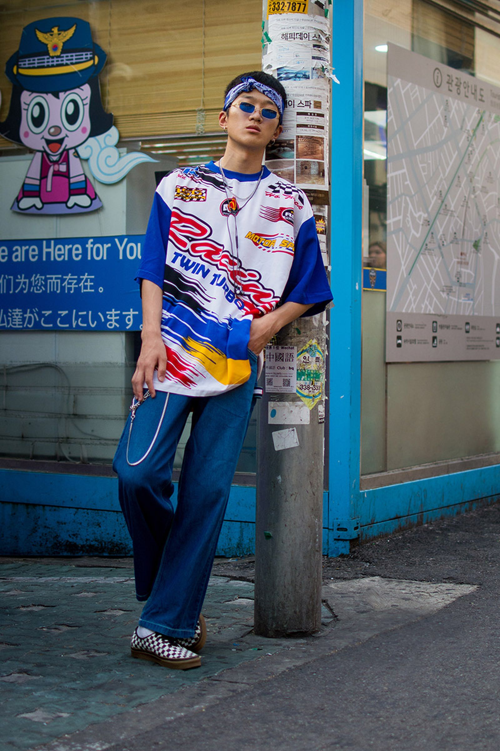 seoul street style july20 Balenciaga Children of the Discordance Gucci