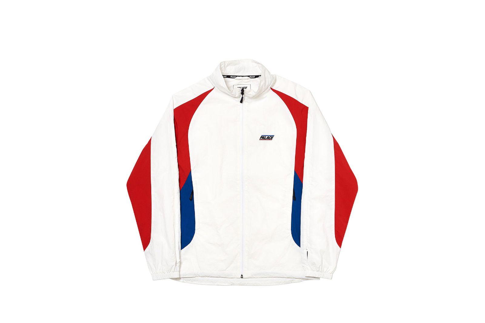 Palace 2019 Autumn Jacket revealer shell white front