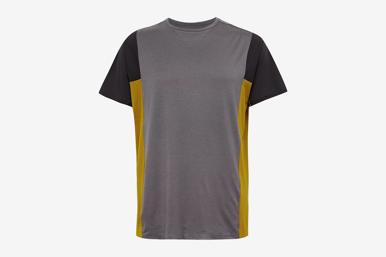 Take the Moment Colour-Block Mesh T-Shirt