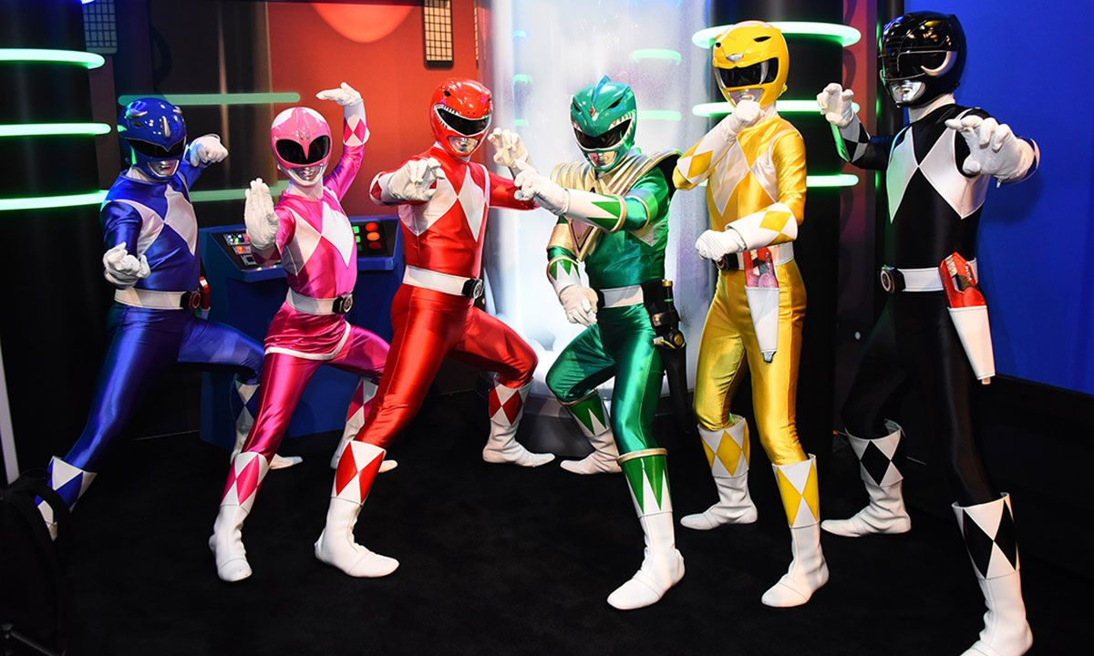 A 'Power Rangers' Film Reboot Is Reportedly in the Works
