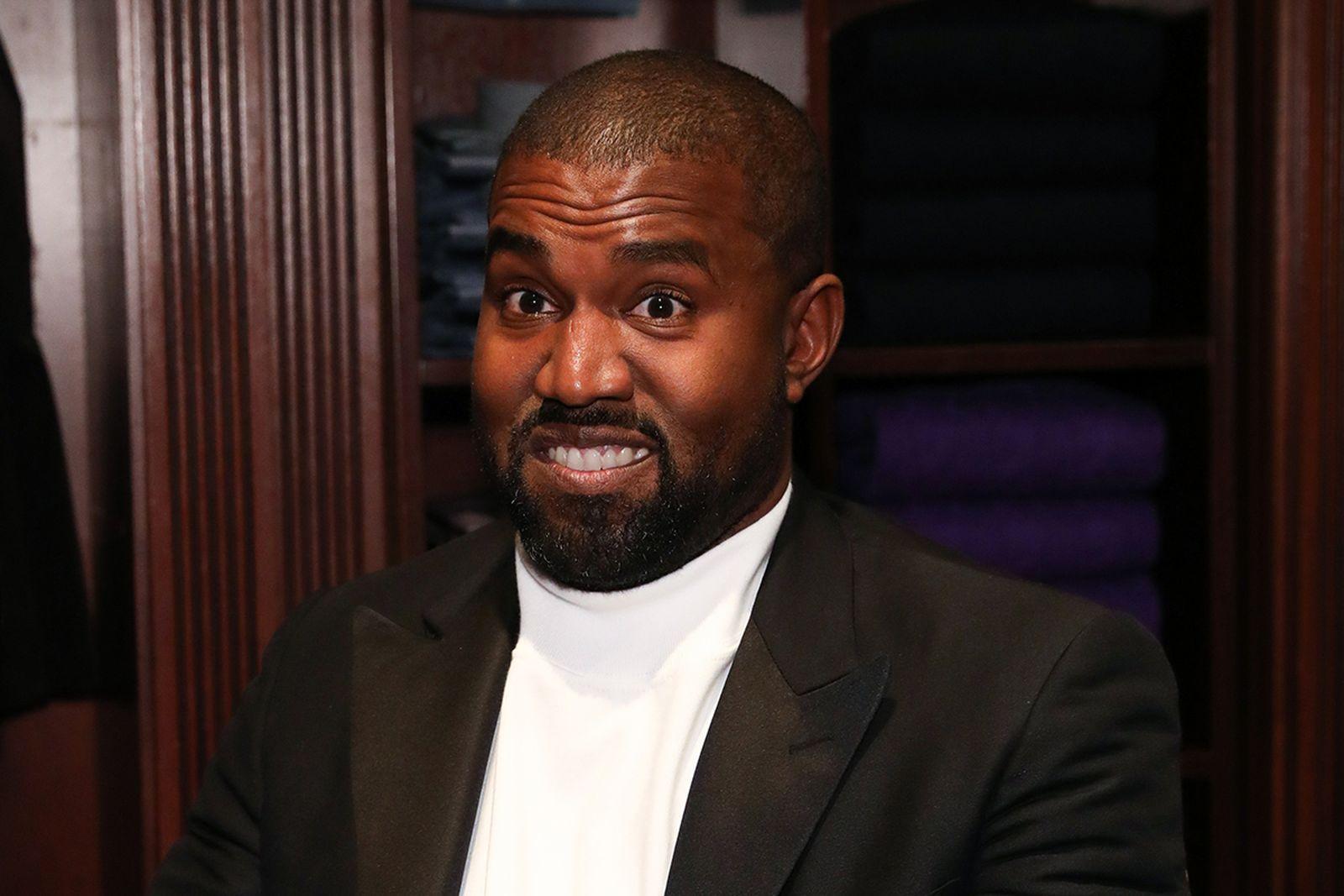 Kanye West speaking