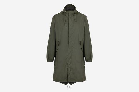 Fishtail Rubberised Raincoat