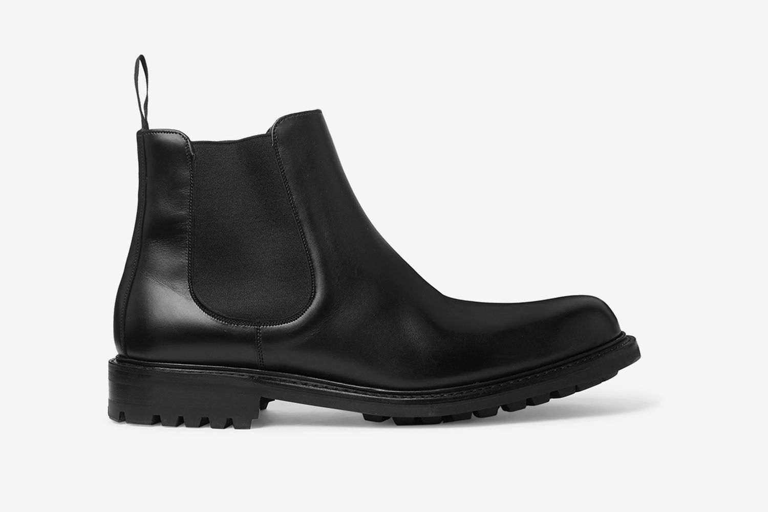 Peter Leather Chelsea Boots