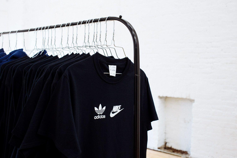 t shirt nike adidas