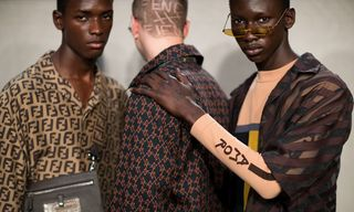 Fendi Plays With Anagrams at Milan Fashion Week