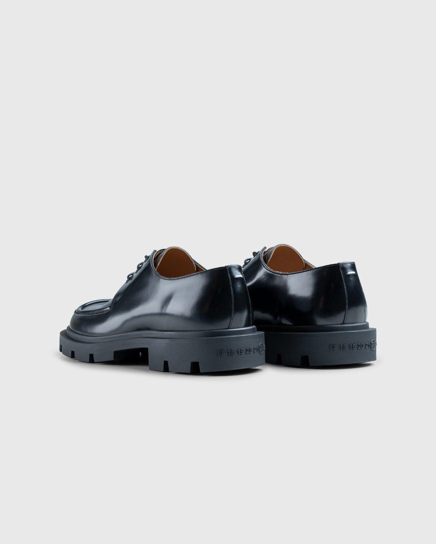 Maison Margiela – Cleated Sole Shoes Black - Image 3