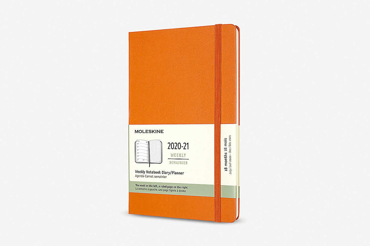 18-Month Hard-Cover Weekly Planner