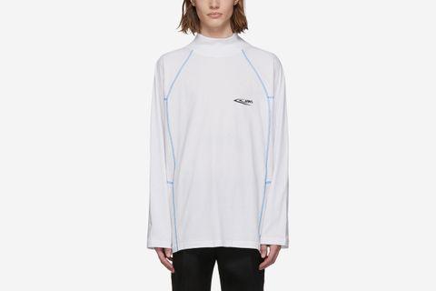 Scuba Mock Neck T-Shirt