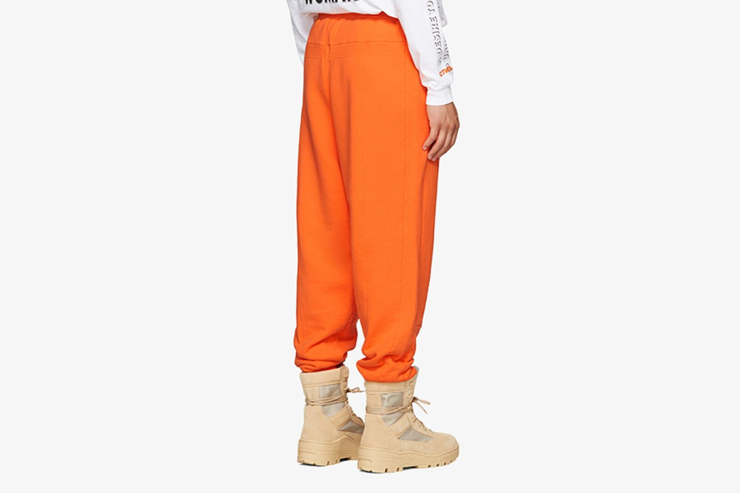 Orange HP Sweatpants