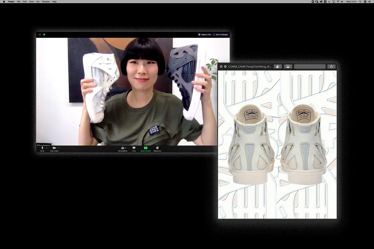 Feng Chen Wang Channels Her Heritage for Her Incredible Converse Collab 9