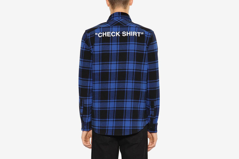 ''CHECK SHIRT''