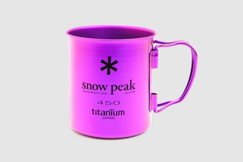 Titanium Single Cup 450