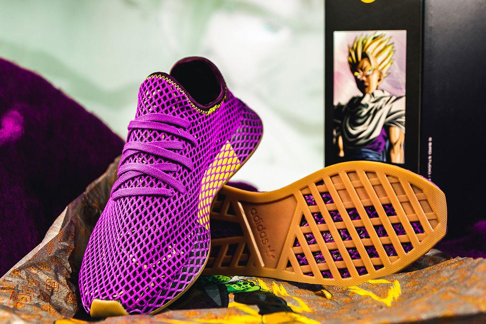 "Dragon Ball Z x adidas Deerupt ""Son Gohan"": Release Information"