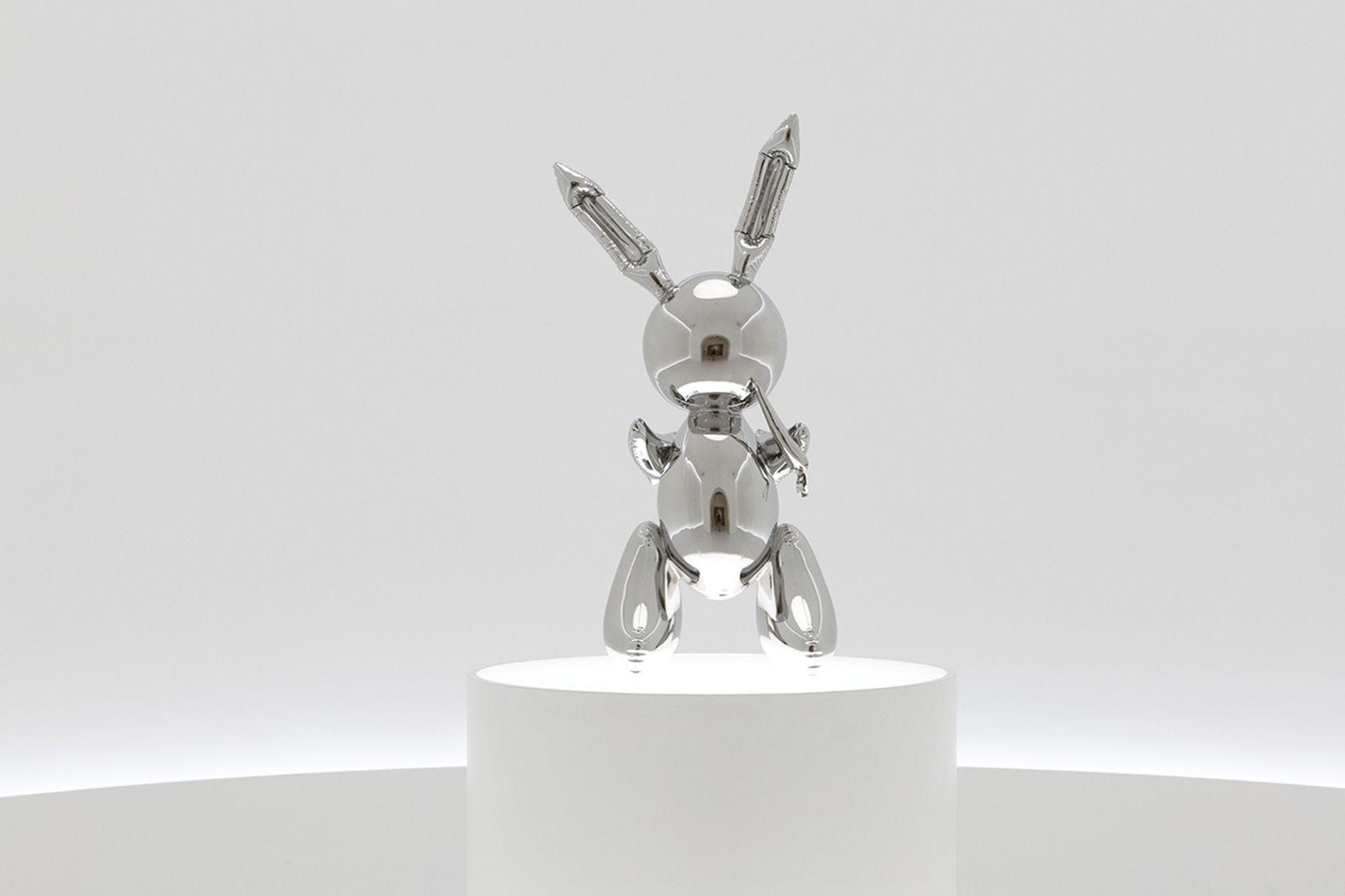 jeff koons rabbit christies auction