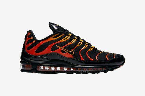 Nike Air Max 97 Plus TN Triple Pink Women's Running Shoes Trainers NIKE CIU011703