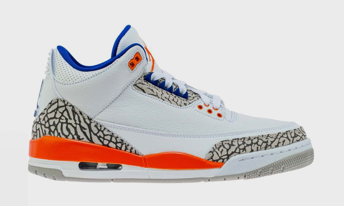 """The Air Jordan 3 """"Knicks"""" Drops Today, Secure Yours Here"""