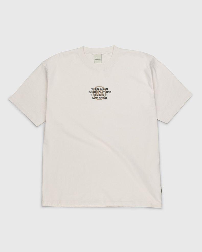 Highsnobiety – Logo T-Shirt Natural