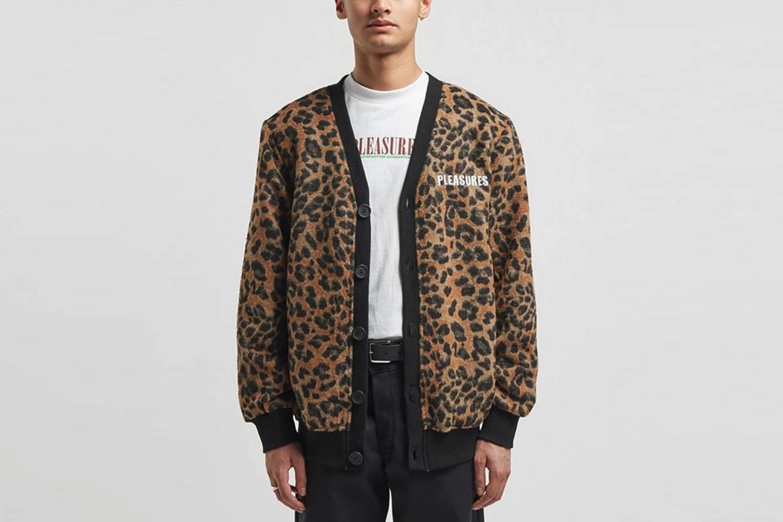Mohair Leopard Cardigan