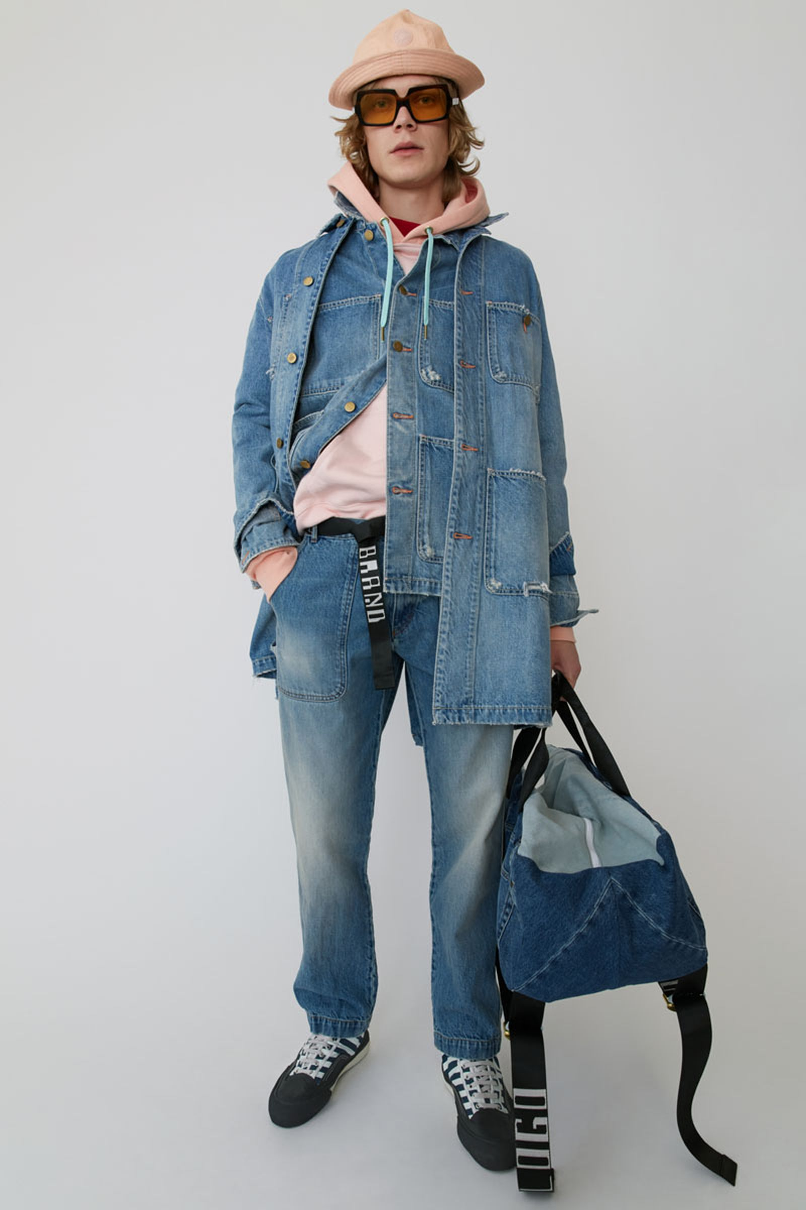 28acne studios ss19 denim collection