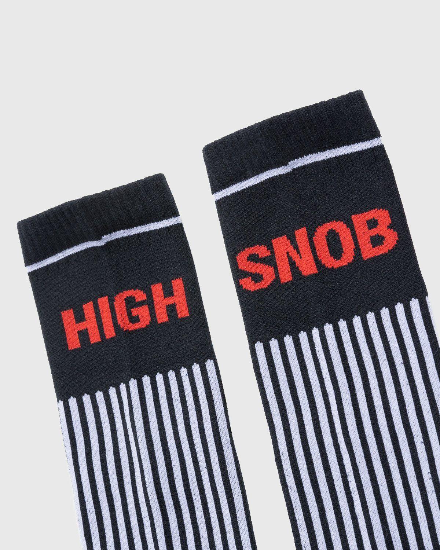 Highsnobiety – Performance Logo Socks Black - Image 3