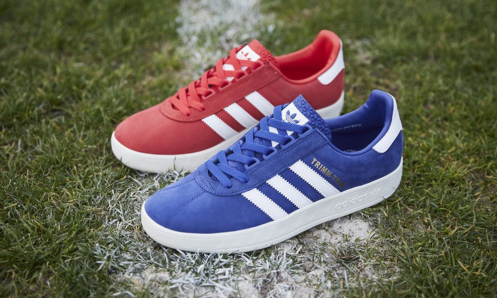 Personas con discapacidad auditiva periodista petróleo  adidas Honors Old Rivalries With the Trimm Trab 'Rivalry Pack'