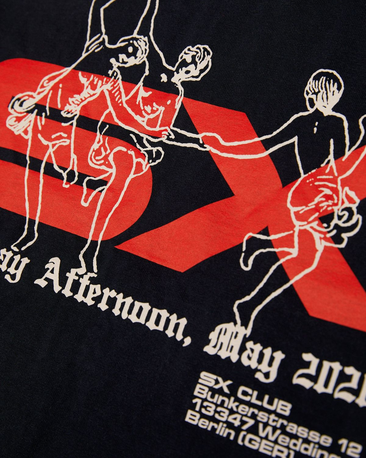 This Never Happened - Dance Clubs T-Shirt Black - Image 3