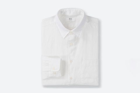Premium Linen Long-Sleeve Shirt