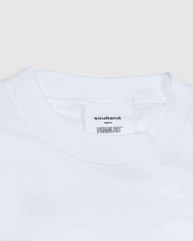Colette Mon Amour x Soulland -  Snoopy Comics White T-Shirt - Image 3
