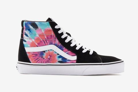 tie dye vans main HUF PacSun rick and morty
