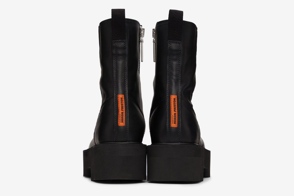 Zip Up & Meet Fall Head-on With These Leather Boots