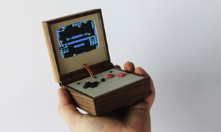 Portable Gaming Gets a Makeover With This Handheld Wooden Emulator