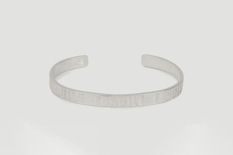 'Fragile' Engraving Cuff