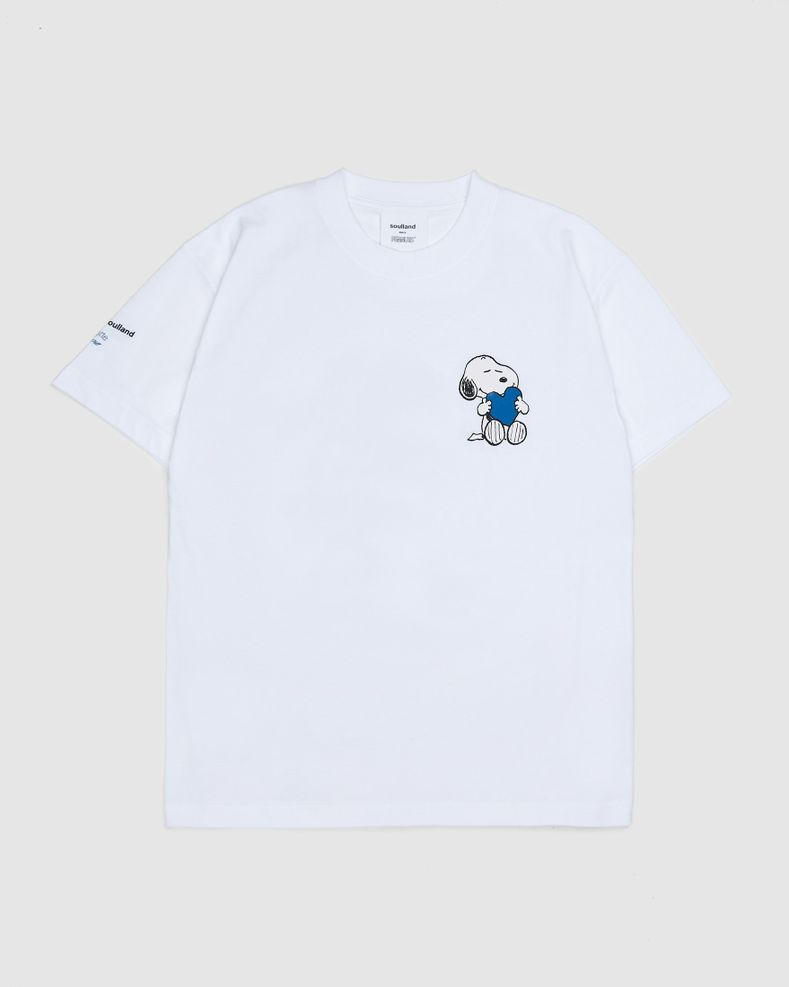Colette Mon Amour x Soulland —  Snoopy Comics White T-Shirt