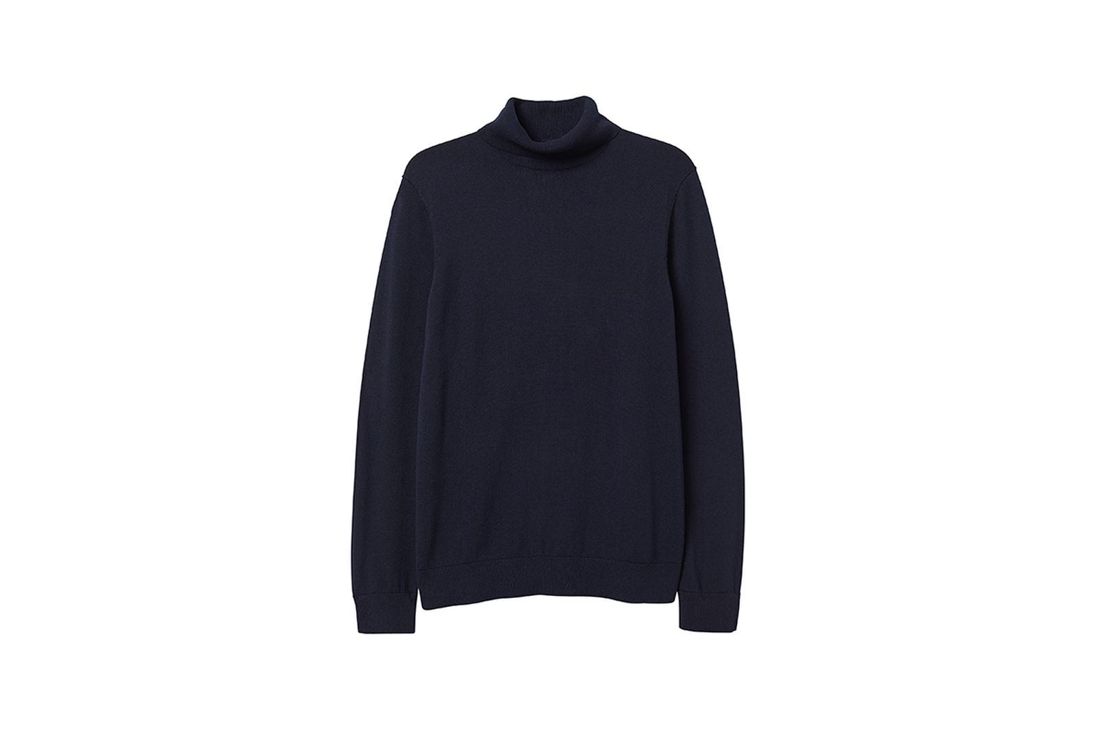 HM Knit Turtleneck Sweater Gift Guide h&m holiday