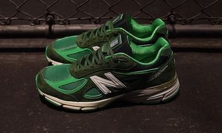 """mita Sneakers & New Balance Combine on """"Bouncing Frog"""" 990v4"""