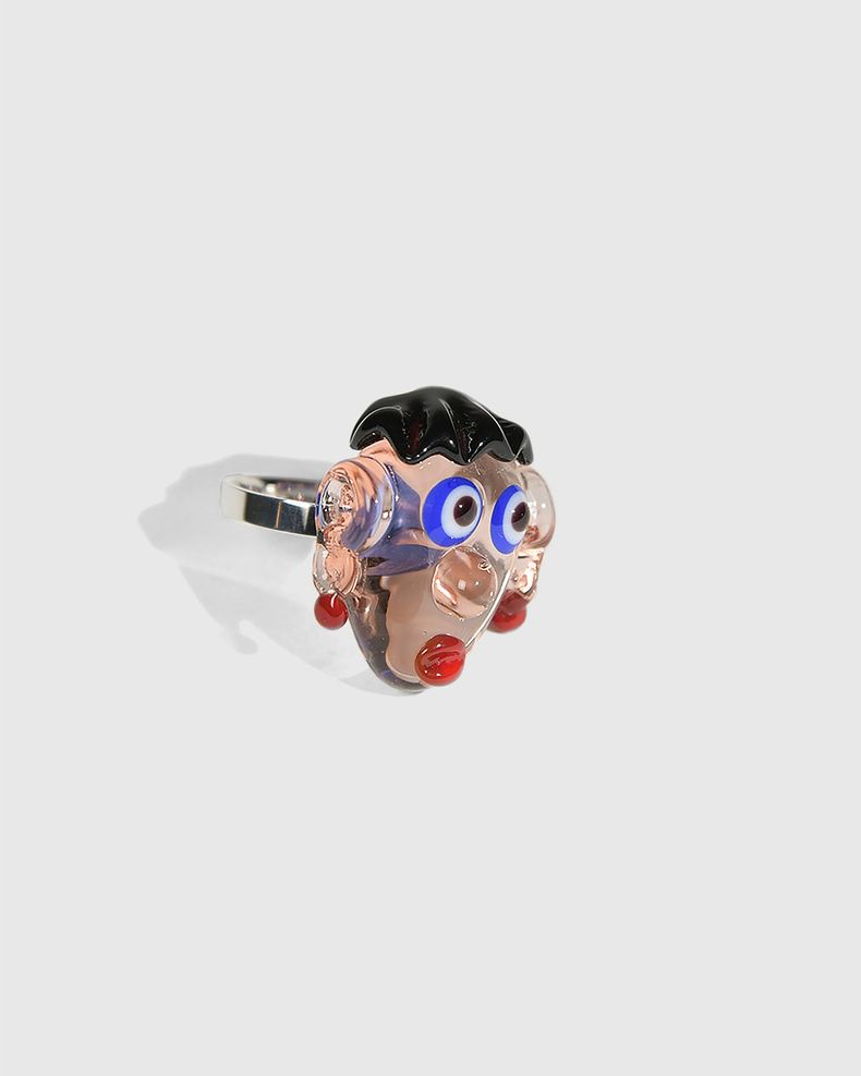Kenneth Ize x Nita — Graphic Ring Transparent